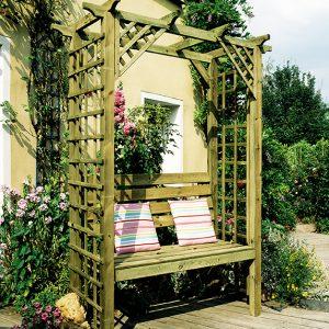 Gloucester Pergola Seat