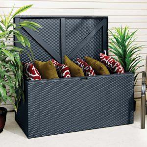Anthracite Metal Deck Box